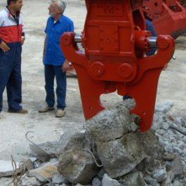Pulverizator pentru piloni din beton armat – model FIP
